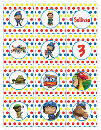 Mike The Knight Birthday Party Cupcake Toppers Cumpleanos