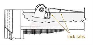 andersen upper screen door roller