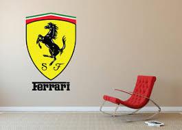 Ferrari Wall Decal Sticker Modern Art Decorative Lounge Bedroom Extra Large Sa82 Ebay