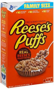reeses puffs family size cereal 22 9