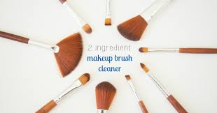 simple effective makeup brush cleaner