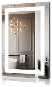 bathroom mirror illuminated image of
