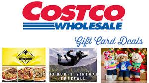 costco gift card bundle deals