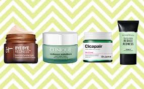 cover up and treat redness on your face