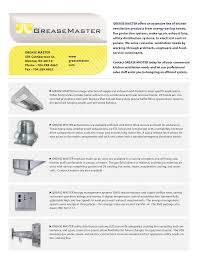 extensive line of kitchen ventilation