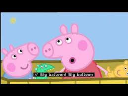 peppa pig series 2 the balloon ride