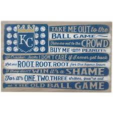 Official Kansas City Royals Wall Decorations Royals Signs Posters Tavern Signs Mlbshop Com
