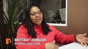 Brittany Johnson & Sisters Code | Workforce Development Roadshow Clip -  YouTube
