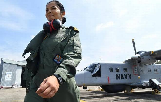 Image result for shivangi navy pilot""