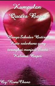 kumpulan quotes baper second quotes wattpad