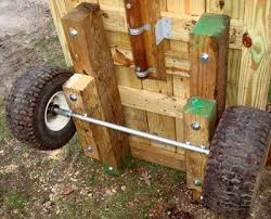 homemade garden cart with images