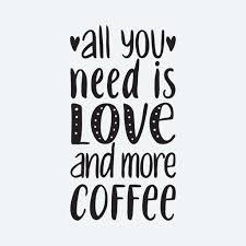 All You Need Is Love Coffee Wall Decal Wall Stickers Wallderful Wallderful Wall Art