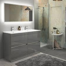 bathroom mirror height above vanity