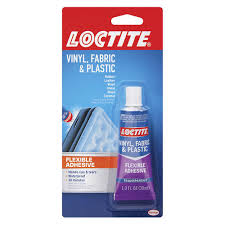 Loctite Vinyl Fabric Plastic Flexible Adhesive 1 Oz At Menards