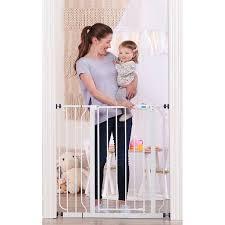 Regalo Easy Step Extra Tall Walk Thru Baby Gate Walmart Com Walmart Com
