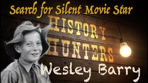 Searching for Silent Child Movie Star Wesley Barry / Turlock California -  YouTube
