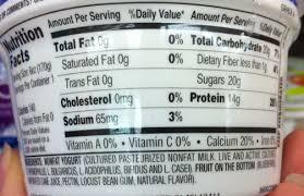 chobani greek yogurt ings label