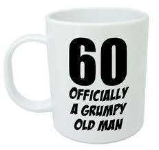 mug funny novelty 60th birthday gifts