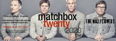 Matchbox Twenty & The Wallflowers Tickets | 30th July | Veterans United  Home Loans Amphitheater