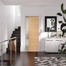 pocket door system oak pocket doors