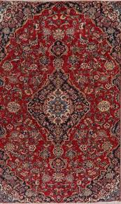 black hand knotted oriental wool rug