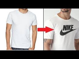 6 Make Your Own Diy Custom Brand T Shirt Without Transfer Paper Tutorial Youtube T Shirt Tutorial T Shirt Diy Custom Design Shirts