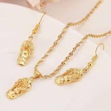 lovely slipper pendant necklaces