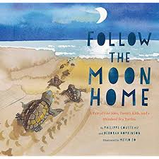 Follow The Moon Home A Tale Of One Idea Twenty Kids And A Hundred Sea Turtles Children S Story Books Sea Turtle Gifts Moon Books For Kids Children S Environment Books Kid S Turtle Books