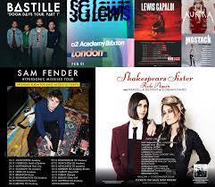Top Tickets This Week: Bastille, Sam Fender, Mostack, Aurora, Lewis  Capaldi, SG Lewis, Shakespears Sister and more