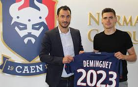 ✍️ Jessy Deminguet prolonge avec le... - SMC | Stade Malherbe ...