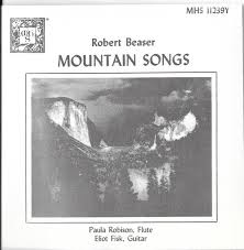 Robert Beaser / Paula Robison, Eliot Fisk - Mountain Songs: A Cycle Of  American Folk Music (1987, CD) | Discogs
