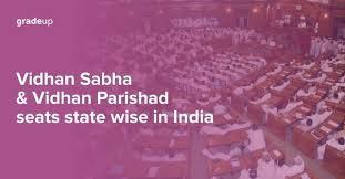 vidhan sabha and vidhan parishad seats