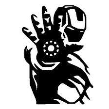 Iron Man Style 1 Black 6 Vinyl Car Decal Art Wall Sticker Car Usa You Can Get Additional Details At The Image Link Iron Man Laptop Decal Marvel