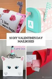 10 cute diy valentine s day mailbo