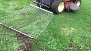 homemade drag harrow for garden tractor