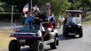 fourth 2009 best decorated golf cart