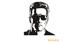 Amazon Com Terminator V2 Decal Sticker Peel And Stick Sticker Graphic Auto Wall Laptop Cell Truck Sticker For Windows Cars Trucks Automotive