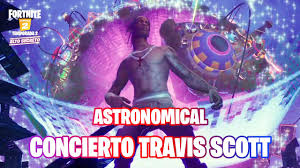 Fortnite: concierto de Astronomical de Travis Scott - YouTube