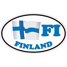 5in X 3in Oval Fi Finland Flag Sticker Vinyl Car Decal Travel Cup Stickers Walmart Com Walmart Com
