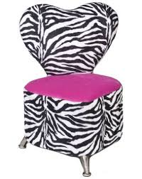 Amazon Com Mauricio S Furniture Zebra Heart Kid S Chair Toys Games Zebra Decor Zebra Room Zebra Furniture