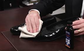 how to shine patent leather shoes