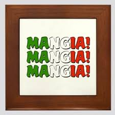 Italian Mangia Wall Art Cafepress