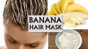 banana curd hair mask to stop hair fall