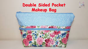 cosmetic bag zipper pouch diy pouch