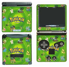 Pokemon Leaf Green Black And White 2 Video Game Vinyl Decal Cover Skin Protector For Nintendo Gba Sp Gameboy Advance Game Boy Buy Online In Bulgaria Gamerz Skinz Products In