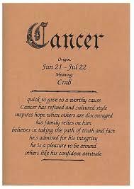 cancer male happy birthday card