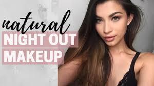 natural night out makeup tutorial