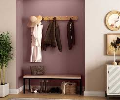 try chocolate cherry house paint colour
