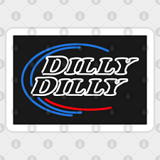 Dilly Dilly Neon Sign Dilly Dilly Sticker Teepublic