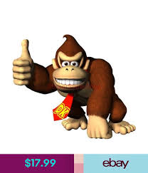 Choose Size Donkey Kong Mario Decal Removable Wall Sticker Decor Video Game Ebay Home Garde Sticker Decor Removable Wall Stickers Wall Stickers